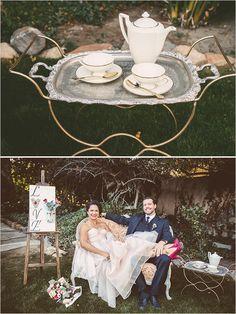 wedding tea @weddingchicks