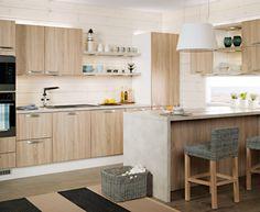 Aitta - vintage tammi. Furniture, Ranch Kitchen, Table, Home Decor, Kitchen