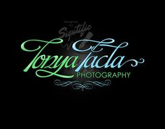 Photographic logo FREE watermark custom photographer by Signtific Watermark Design, Logo Design, Camera Logo, Photography Logos, Signature Logo, Business Logo, Favorite Color, Neon Signs, Lettering
