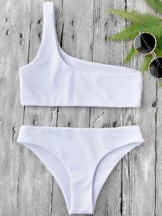 One Shoulder Bikini,Bandeau Bikinis,YOUR WISH LIST