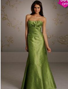 A-line Strapless Sleeveless Floor-length Taffeta Bridesmaid Dress #VJ461 - See more at: http://www.avivadress.com/wedding-apparel/bridesmaid-dresses/floor-length-bridesmaid-dresses.html#sthash.luGr4au5.dpuf