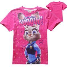 Baby Clothes Girl Tops T-shirts 2016 Summer Fashion Cartoon Rabbit Zootopia Short Sleeve T Shirt Children Clothing Girls T Shirt♦️ B E S T Online Marketplace - SaleVenue ♦️👉🏿 http://www.salevenue.co.uk/products/baby-clothes-girl-tops-t-shirts-2016-summer-fashion-cartoon-rabbit-zootopia-short-sleeve-t-shirt-children-clothing-girls-t-shirt/ US $6.64