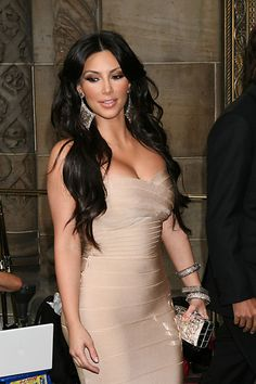 Kim Kardashian Herve Leger Dress