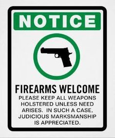 Firearms Welcome