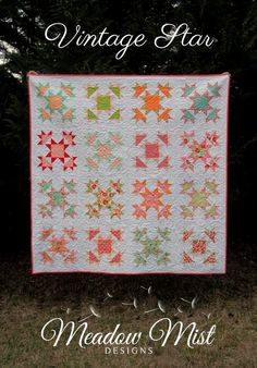 Meadow Mist Designs: Blogger's Quilt Festival - Fall 2014 - Vintage Star