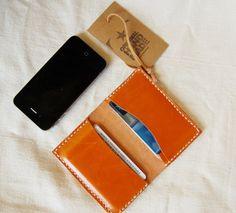 Wallet leather handmade