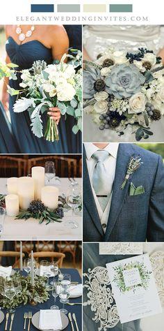 classic blue and sage green elegant wedding ideas Wedding On A Budget, Cute Wedding Ideas, Our Wedding, Wedding Planning, Dream Wedding, Winter Themed Wedding, Fall Wedding Inspiration, Winter Wedding Ideas, Different Wedding Ideas