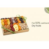 Paytm Dry Fruits And Sweets 50% Cashback Offer : Buy Dry Fruits And Sweets at Best Price - Best Online Offer