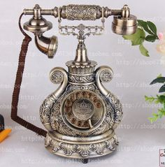 Fashion phone rotary dial vintage antique telephone $89.24