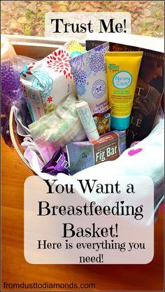 Breastfeeding basket, Everything you need