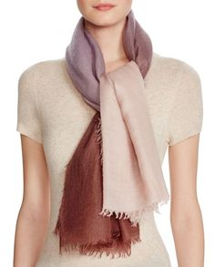 Jane Carr The Wave Cashmere Scarf
