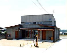 風の抜けるおおらかな住宅・間取り(兵庫県小野市)  高級住宅・豪邸   注文住宅なら建築設計事務所 フリーダムアーキテクツデザイン
