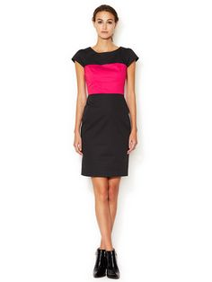 Christmas Carlotta Colorblock Dress by French Connection at Gilt