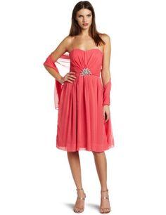 Eliza J Women's Shashy Chiffon Dress, Coral, 10 Eliza J https://www.amazon.com/dp/B007IS2B54/ref=cm_sw_r_pi_dp_x_LWMgybXTJXFD5