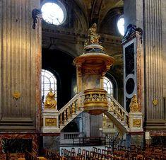 Eglise de Saint Sulpice, à Paris