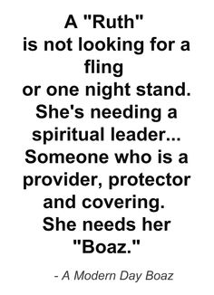 boaz christian single women Here comes the bride: straight talk for christian women waiting for their boaz.