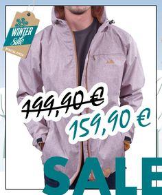 Rain Jacket atmungsaktiv aus recycletem Polyester von bleed im WSV bei Kult-Design-Unikate