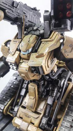 Custom Build: HG 1/144 Guntank Max. Offenbarrer - Gundam Kits Collection News and Reviews