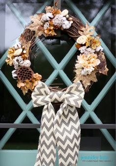 Easy DIY Fall Wreaths – Modern Farmhouse Design