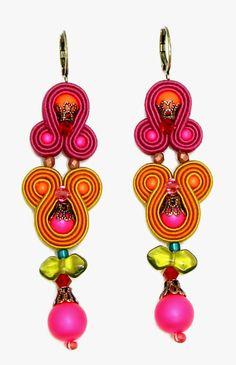 CONTE Idee di Stile: Nuovi arrivi Dori Csengeri Soutache Earrings, Drop Earrings, Conte, Dory, Nespresso, Tassels, Jewelery, Women Jewelry, Bead