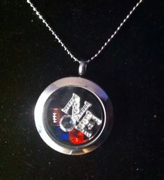 Origami owl style-or are you a Pats fan??? MifflinLockets.com