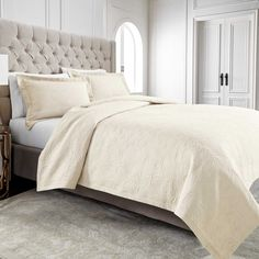 Wamsutta® Filigree Coverlet in Ivory