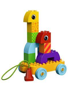 little hands, big imaginations! LEGO DUPLO Toddler Build and Pull Along #lego #duplo #toddler #toys