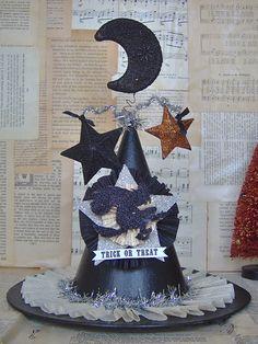 Queen of Halloween Witch Hat Collage, via Flickr.