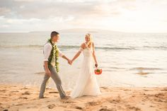 Elizabeth and Bryan's Hawaii Beach Elopement turned out absolutely perfect! Even though they were originally planning to get married at Ironwoods, and had to relocate to Southside Beach due to heavy rain. Boho Beach Wedding, Wedding Pics, Destination Wedding, Photographers Office, Hawaii Elopement, Elegant Wedding Gowns, Wedding Officiant, Maui Weddings, Family Affair