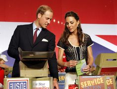 "Kate Middleton Photos: The Duke And Duchess Of Cambridge Attend The Mission Serve ""Hiring Our Heroes Los Angeles"" Job Fair"