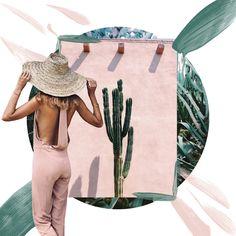 Colour Palette. Sabo Skirt Bronz Jumpsuit 'Desert Life- Botany' hannahklemm vsco Green Garden via Smaysdays