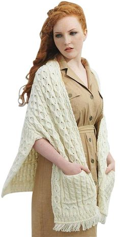 Knitted Poncho, Knitted Shawls, Wool Scarf, Crochet Shawl, Chrochet, Shawl Cardigan, Knit Wrap, Cable Knit Sweaters, Cardigans For Women