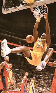 Shaquille O'Neal - Los Angels Lakers (NBA Great)