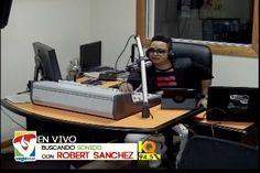 Robert Sanchez y el equipo comentan sobre el lio entre Alex Macías y Dj Topo en Buscando Sonido con Robert Sanchez