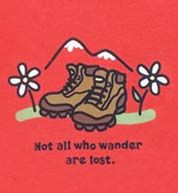 Love my trusty hiking boots