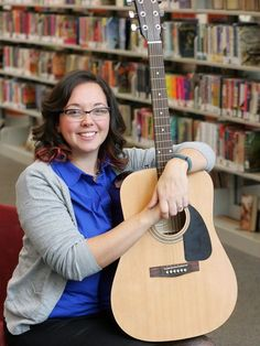 Library debuts guitar-lending program