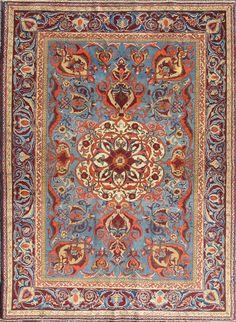 """Turkish Oushak rug,  4'6"""" X 6'4"""", 1900, Keivan Woven Arts Gallery"""
