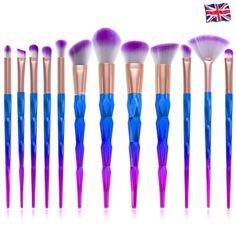 10pcs-Unicorn-Face-Eyeliner-Brush-Thread-Cosmetic-Make-Up-Flat-Brushes-Set-Tools