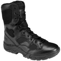 5-11-Taclite-8-Side-Zip-Mens-Tactical-Patrol-Boots-Police-Security-Black-6-13