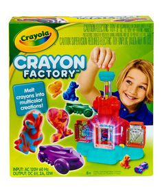 Love this Crayon Factory Art Set on #zulily! #zulilyfinds