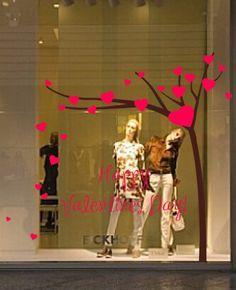Vitrinas del día de San Valentín painting window - Αναζήτηση Google