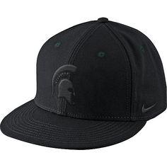 MSU Nike True Blackout Snapback Hat  A-CU   S-02   R-12  0c52f21c86f