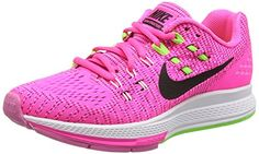 Nike Womens Wmns Air Zoom Structure 19 PINK BLASTBLACKELCTRC GREENWHITE 55 US *** You can get additional details at the image link.(This is an Amazon affiliate link)