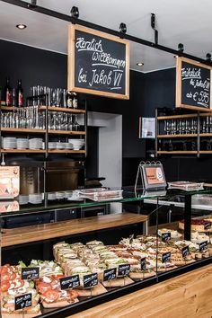 cafe restaurant by AT Social Media Marketin - Bakery Shop Interior, Bakery Shop Design, Coffee Shop Interior Design, Restaurant Interior Design, Pizzeria Design, Cafe Restaurant, Bakery Cafe, Modern Restaurant, Deli Cafe