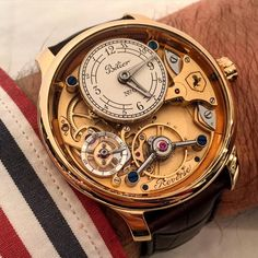 One of the fav independent watches. The reverse (look at the dial numerals) by Belier watches.