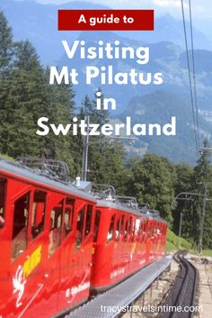 Round Trip to Mount Pilatus Visiting Lucerne? Why not plan a day trip up Mt Pilatus? Read this to give you an idea of planning your day. Why not plan a day trip up Mt Pilatus? Read this to give you an idea of planning your day. Best Of Switzerland, Switzerland Vacation, Lucerne Switzerland, European Road Trip, European Vacation, European Travel, Europe Train Travel, Europe Travel Tips, Places To Travel