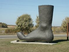 Worlds largest boot red wing minnesota roadside minnesota big foot vining minnesota sciox Images