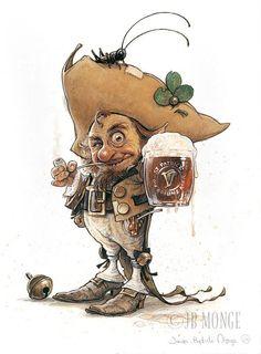 Jean-Baptiste Monge jbmonge   Illustrator Character Designer   Canada   Celtic Faeries
