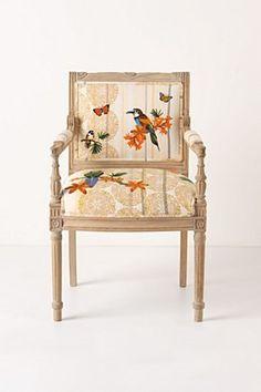 Anthropologie Chair.