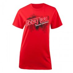 :) Size Large...Moms Abby Lee Miller Dance Co. http://shop.history.com/dance-moms-abby-lee-miller-dance-co-everyones-replaceable-t-shirt-red/detail.php?p=449918&v=lifetime_show_dance-moms